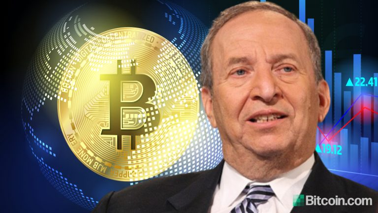 Former US Treasury Secretary Larry Summers Says Cryptocurrency Is Here to Stay as Digital Gold