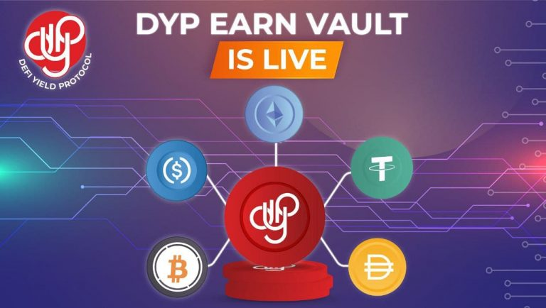 DeFi Yield Protocol (DYP) Launches DYP Earn Vault