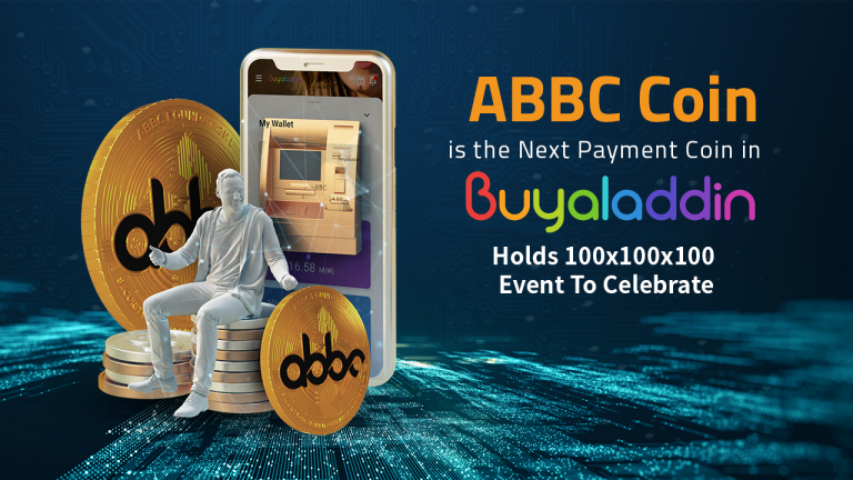ABBC Coin Is the Next Payment Coin in Buyaladdin, Holds 100x100x100 Event to Celebrate