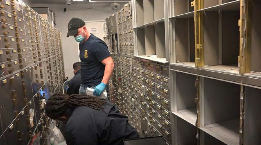 FBI Seizes 800 Beverly Hills Safety Deposit Boxes With $86M, Attorney's Claim Fed's Raid 'Unconstitutional'