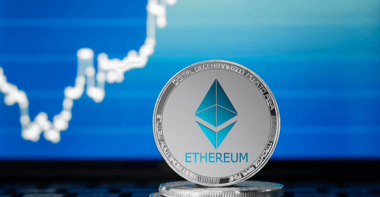 Ethereum and a trading chart