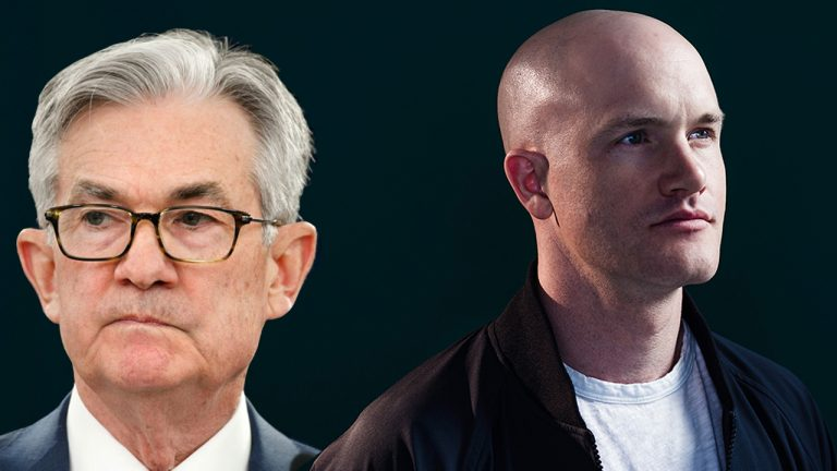 Brian Armstrong Meets With Fed Chair Jerome Powell – 'US Needs to Be a Major Crypto Player to Stay Relevant'