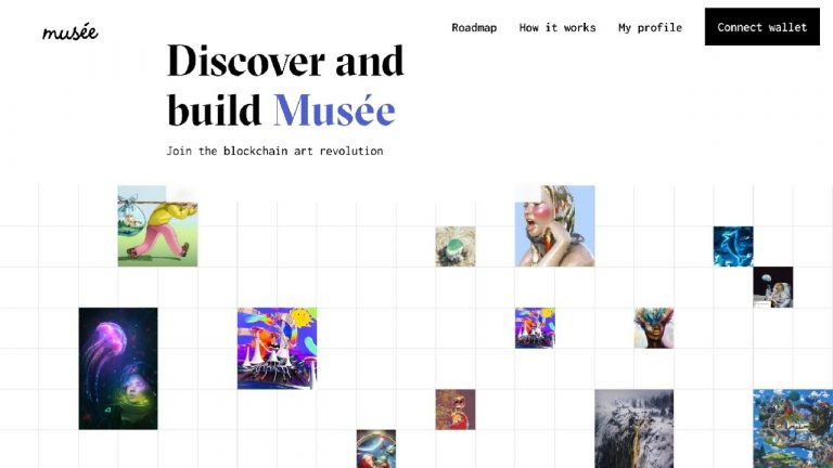 Musée - the User Owned NFT Marketplace and Gallery